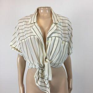 Vintage 80's Jacques Vert Women's Blouse Shirt E27
